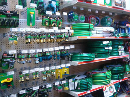 Garden hoses & fittings
